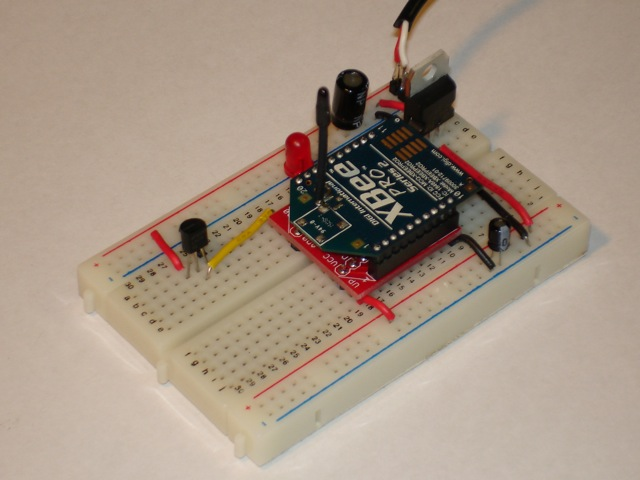 Remote temperature sensor
