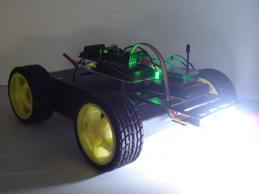 Wireless Robotics Platform with XBee Remote Control | Project Lab