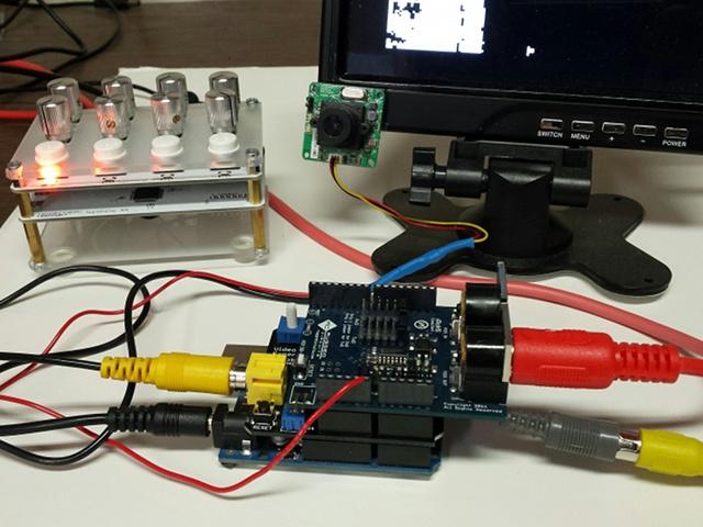 Video Experimeter as MIDI Controller