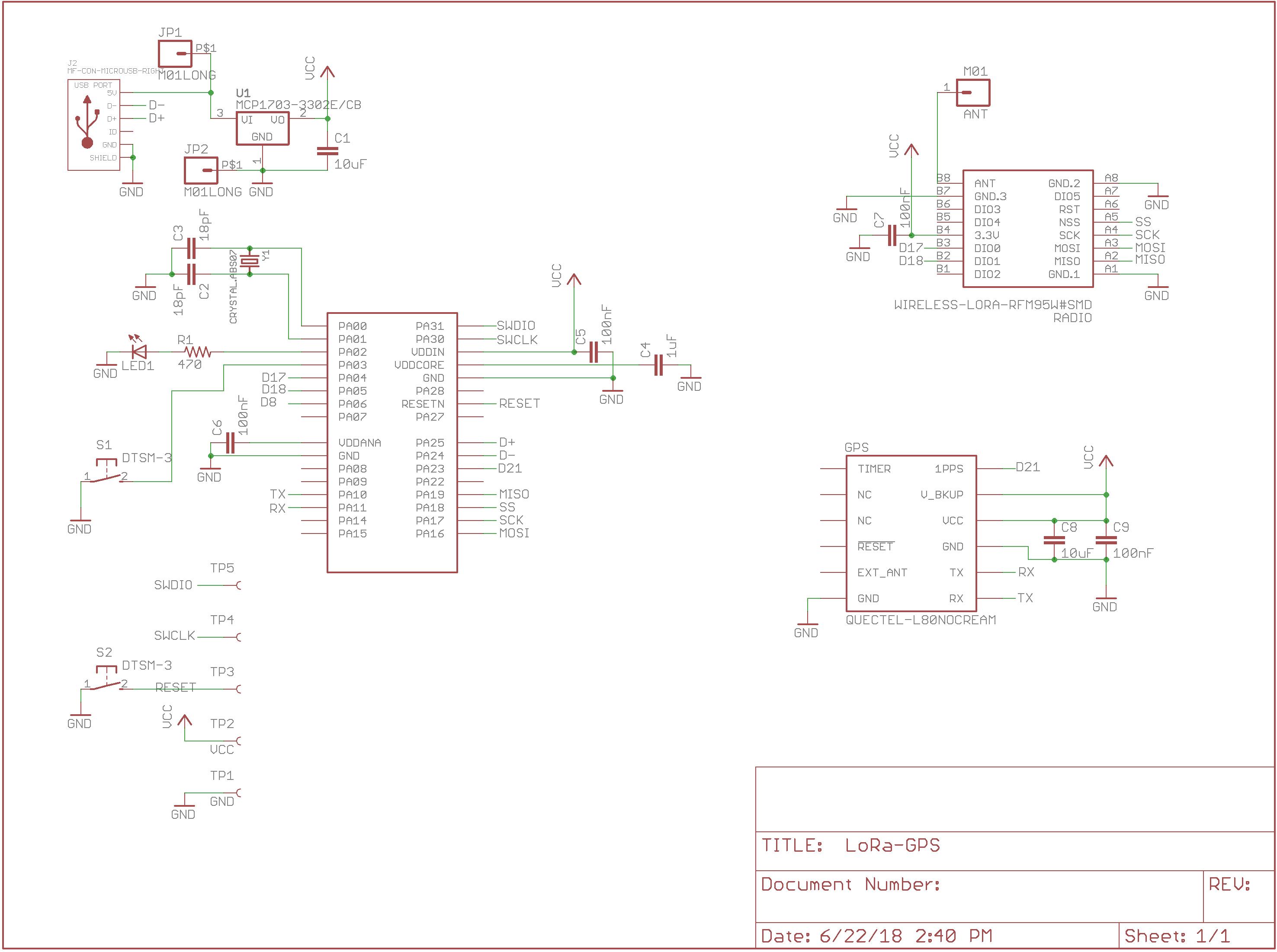 SAMD21 LoRa Development Board with GPS | Project Lab