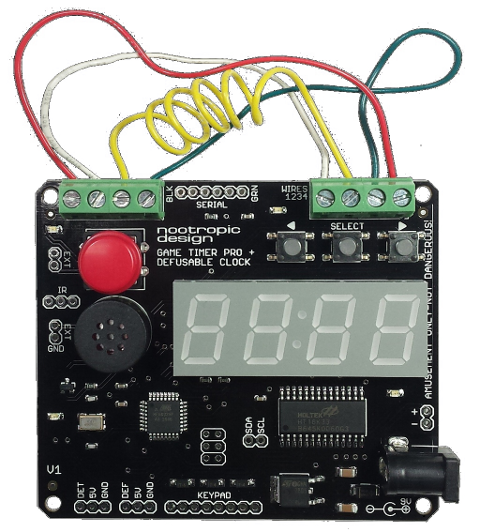 Game Timer Pro: build a bomb timer for airsoft games or your